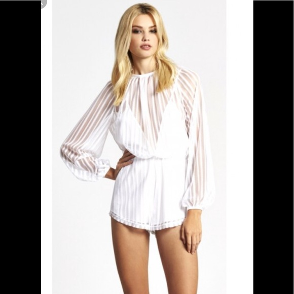"""Alice McCall Pants - Alice McCall """"Something to Talk About"""" romper. S 6"""